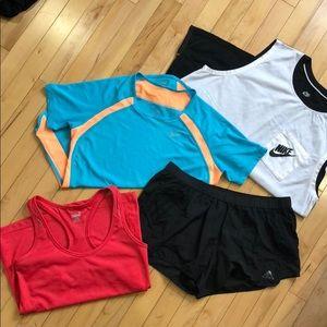 Workout bundle Nike/Adidas